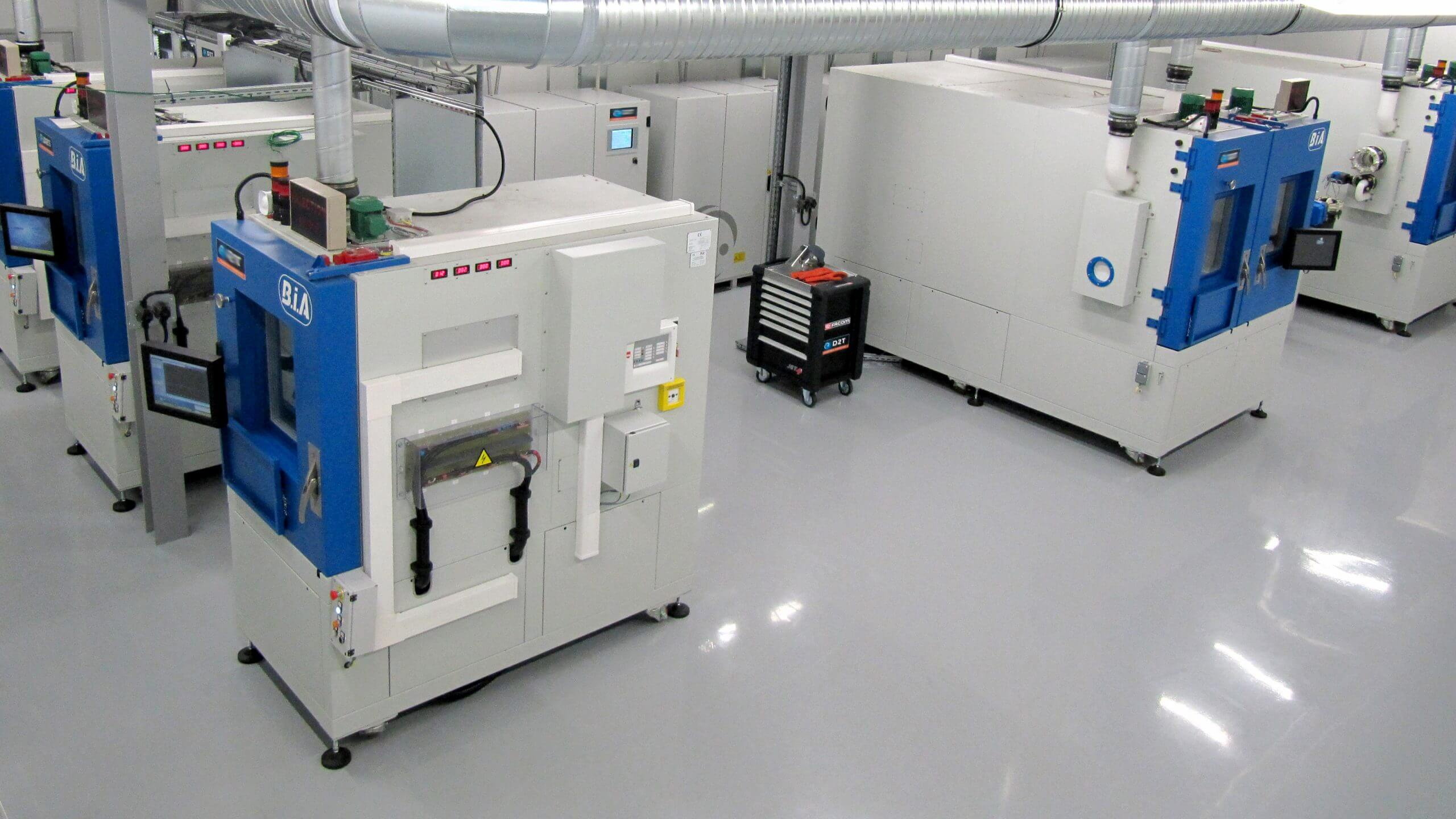 Battery Test Chambers Laboratory