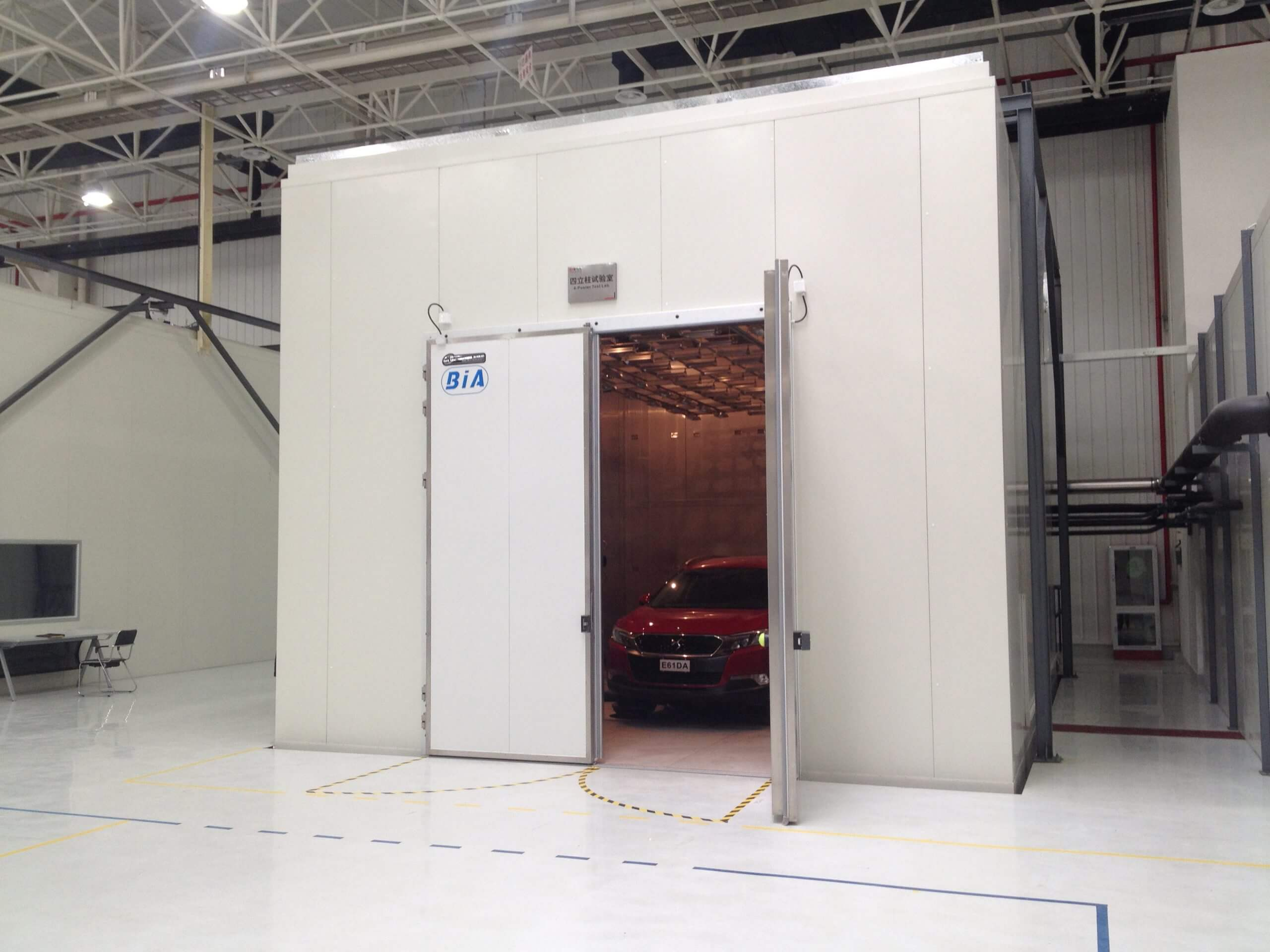 CAPSA Four-poster Drive-In Test Chamber