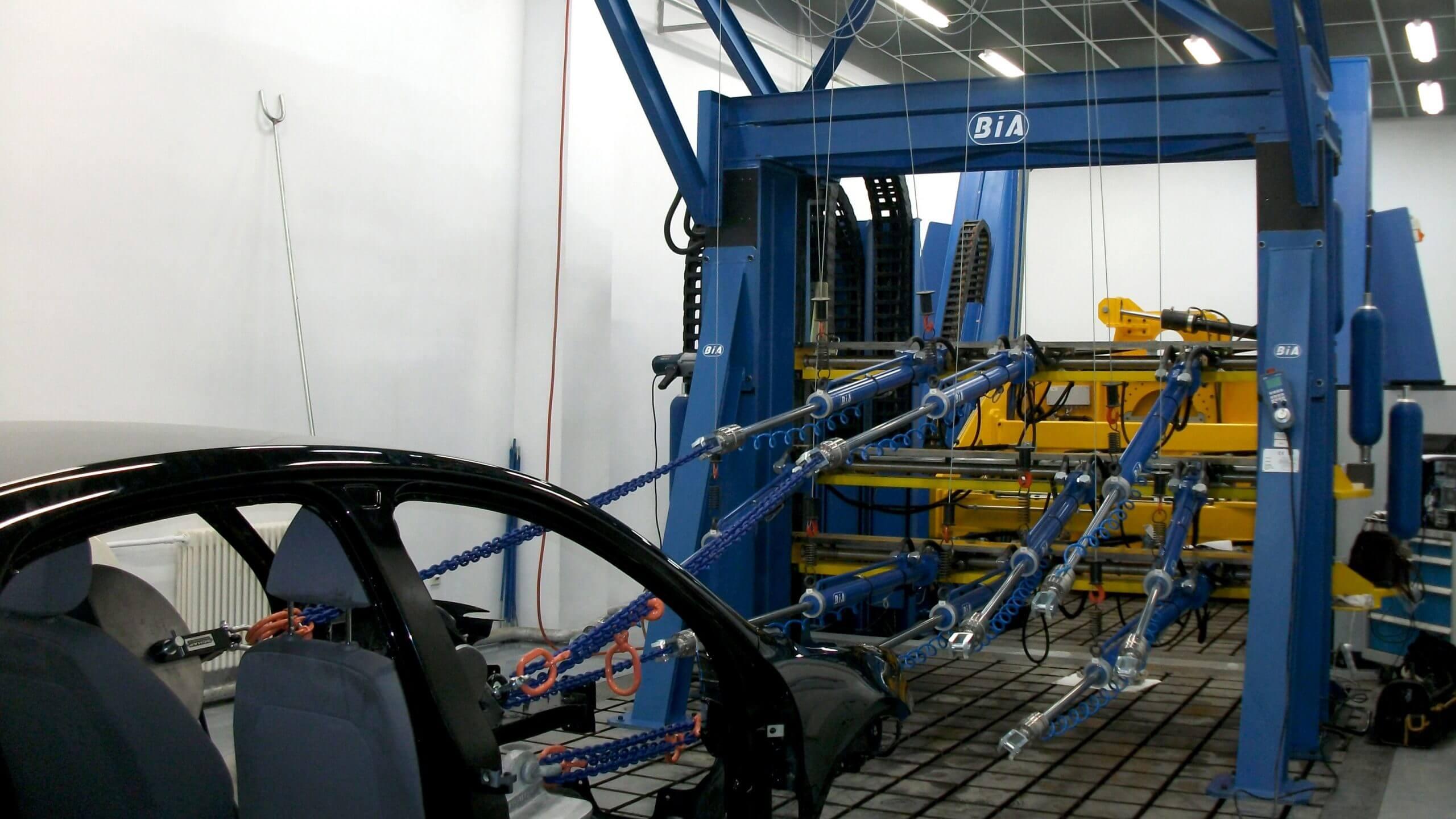 Seatbelt Anchorage Test System FAW